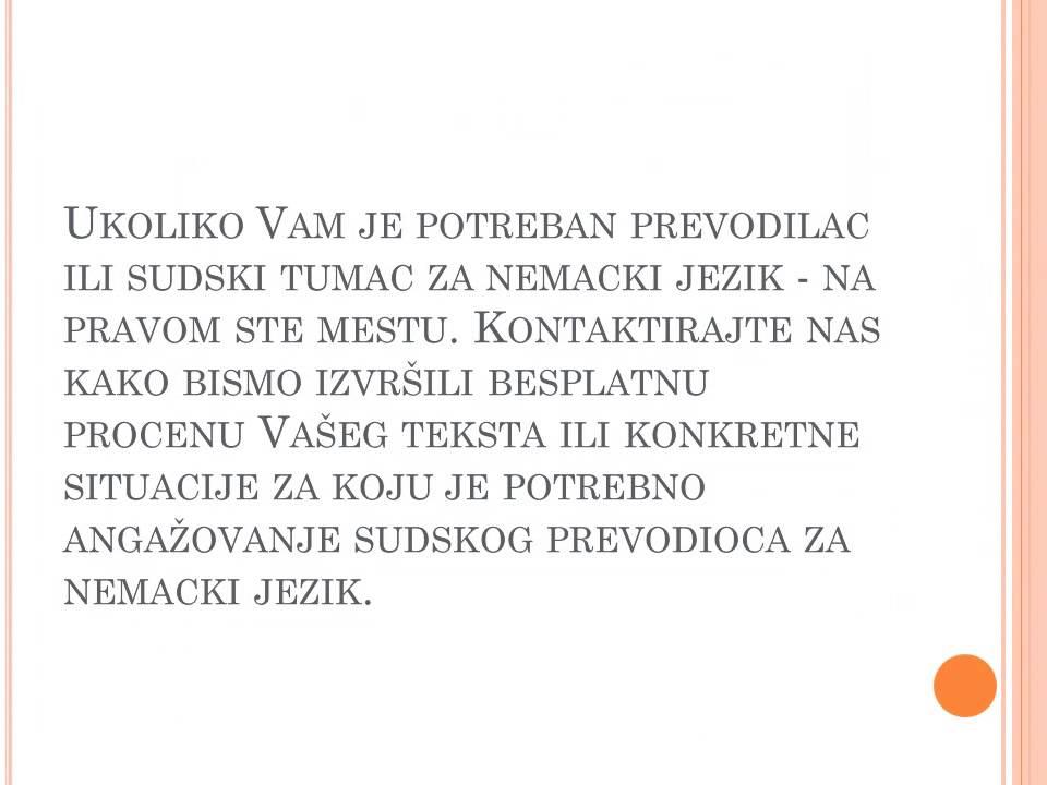 Sudski Prevodilac Za Nemacki Jezik Youtube
