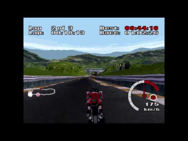Ducati World - HD Remastered Showroom - PSone