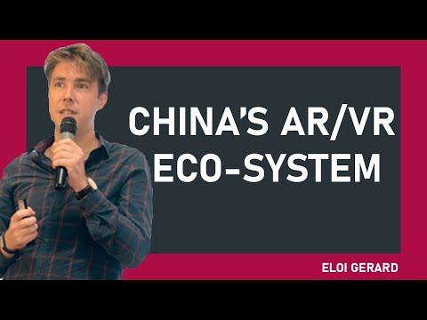 XROM PODCAST: AR&VR in China with Eloi Gerard-Founder XR Story & CrowsNest