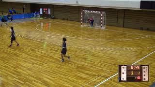 8日 ハンドボール女子 あづま総合体育館 Bコート 不来方×明光学園 準々決勝 1