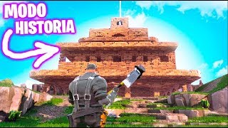 FORTNITE: History Mode !! MY NEW BASE !! Saving the World #2 Makigames