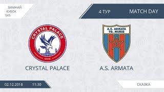 Crystal palace 2:7 Armata, 4 тур