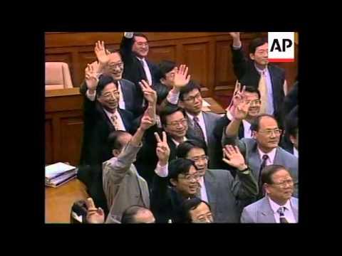HONG KONG: LEGISLATIVE COUNCIL HOLDS FINAL MEETING