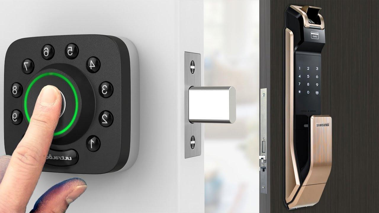 Top 7 Best Smart Door Locks 2019 for Your Home | Most Safest Smart Lock -  YouTube