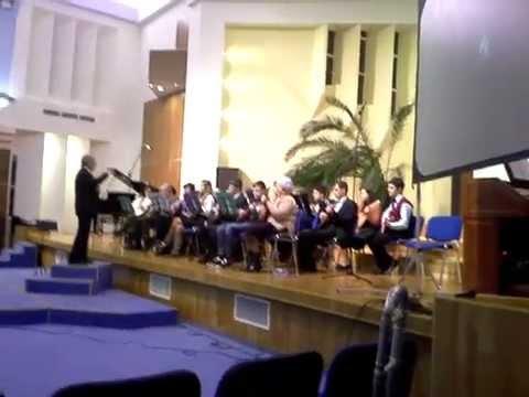 """Orchestra de mandoline """"Speranța"""" a Bisericii Adventiste de Ziua a Șaptea din Miercurea Nirajului"""