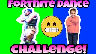 Fortnite Dance Challenge In Real Life! Cringy Fortnite Dance