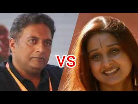 "Prakash Raj vs BJP Leader in ""The Culture Wars"" Programme"