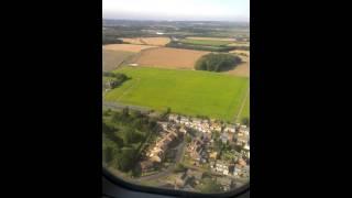 Landing into Liverpool