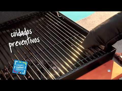 ¿Cómo limpiar una parrilla a carbón? - Sodimac Homecenter Argentina