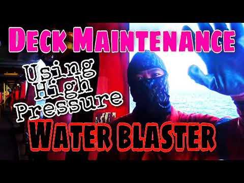 How to use water blaster / hydro blast easily #WaterBlaster