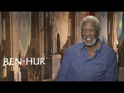 Ben-Hur: Morgan Freeman hates watching himself on-screen