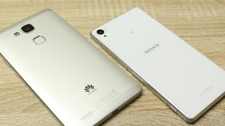Huawei Ascend Mate 7 vs. Sony Xperia Z3 im Vergleich (Deutsch)   InstantMobile
