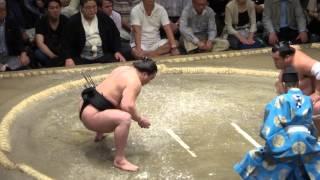 20130921 大相撲秋場所7日目 日馬富士 vs 豊響 変わり身はちょっとなぁ~