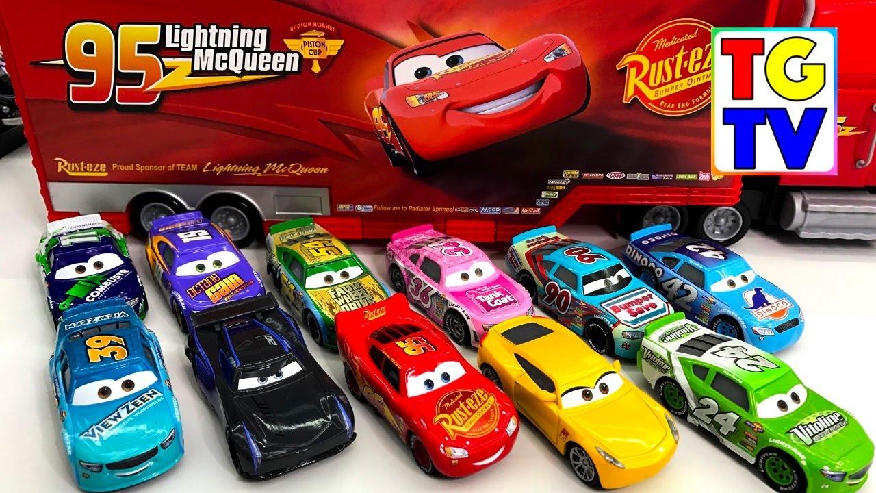 Mattel disney pixar cars 3 piston cup racers cars 1 to cars 3 visual - Disney Cars 3 Lightning Mcqueen Piston Cup Racers