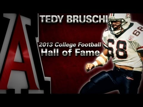 Tedy Bruschi CFB Hall of Fame - UA Highlights