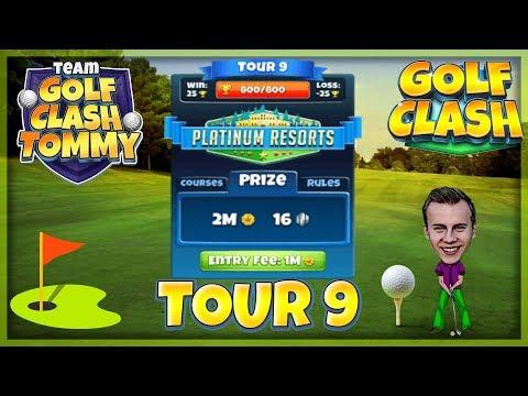 Golf Clash tips, Hole 1 - Par 3, Greenoch Point - Platinum Resorts, Tour 9 - GUIDE/TUTORIAL
