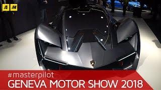 Lamborghini Terzo Millennio   sguardo al Toro del futuro   Salone di Ginevra 2018 [ENGLISH SUB]