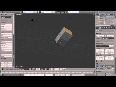getting-started-in-modeling-with-blender---by-blender-cookie