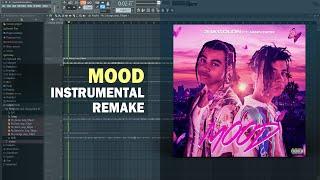 24kGoldn - Mood ft. Iann Dior (Instrumental) + Free FLP Remake