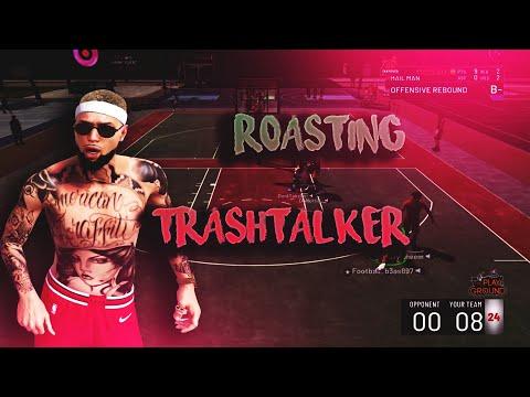 SPOTTING TRASH TALKERS 20 POINTS! FUNNY GAMEPLAY NBA 2K19!