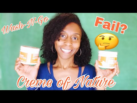 ***Wash-N-Go featuring the New Creme of Nature Coconut Milk Products***
