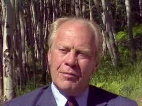 Gerald Jones Ford >> Gerald Ford In His Own Words - YouTube