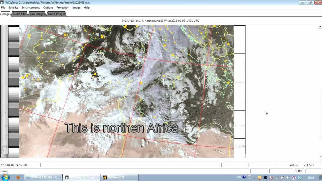 How To Take NOAA Satellite Pictures Using RTLSDR For Under - Noaa world satellite map