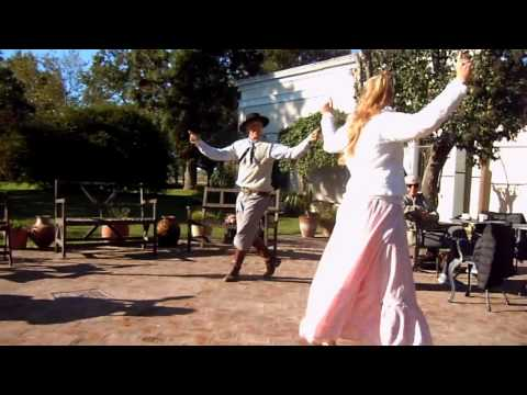 Argentinian Gaucho dancing and singing - traditional music and dance