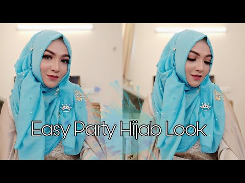 Easy Party Hijab Look Without Innercap | Pari ZaaD | Eid Special | Tahoor | Purity Hijab World ❤️