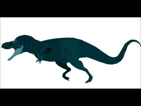 PPBA Edmontosaurus vs Tyrannosaurus