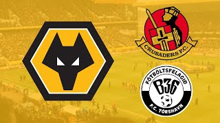 Wolves To Face Crusaders or B36 Tórshavn In The Europa League