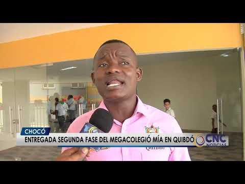 Entregada Segunda Fase Del Megacolegio Mía En Quibdó