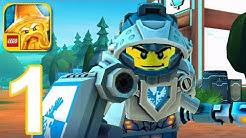 LEGO NEXO KNIGHTS: MERLOK 2.0 - Gameplay Walkthrough Part 1 - Levels 1-4 (iOS, Android)