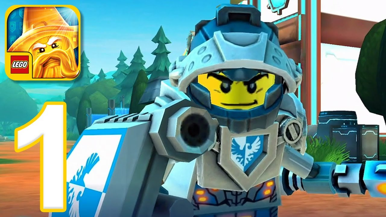 LEGO NEXO KNIGHTS: MERLOK 2.0 – Gameplay Walkthrough Part 1 – Levels 1-4 (iOS, Android)