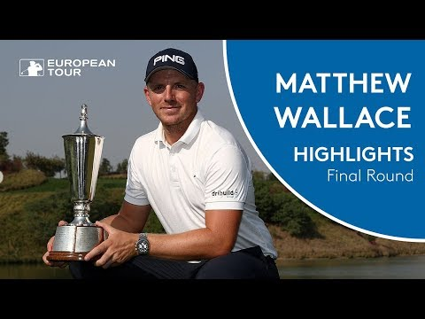 Matt Wallace wins the 2018 Hero Indian Open | Final Round Player Higlights