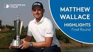 Matt Wallace wins the 2018 Hero Indian Open   Final Round Player Higlights