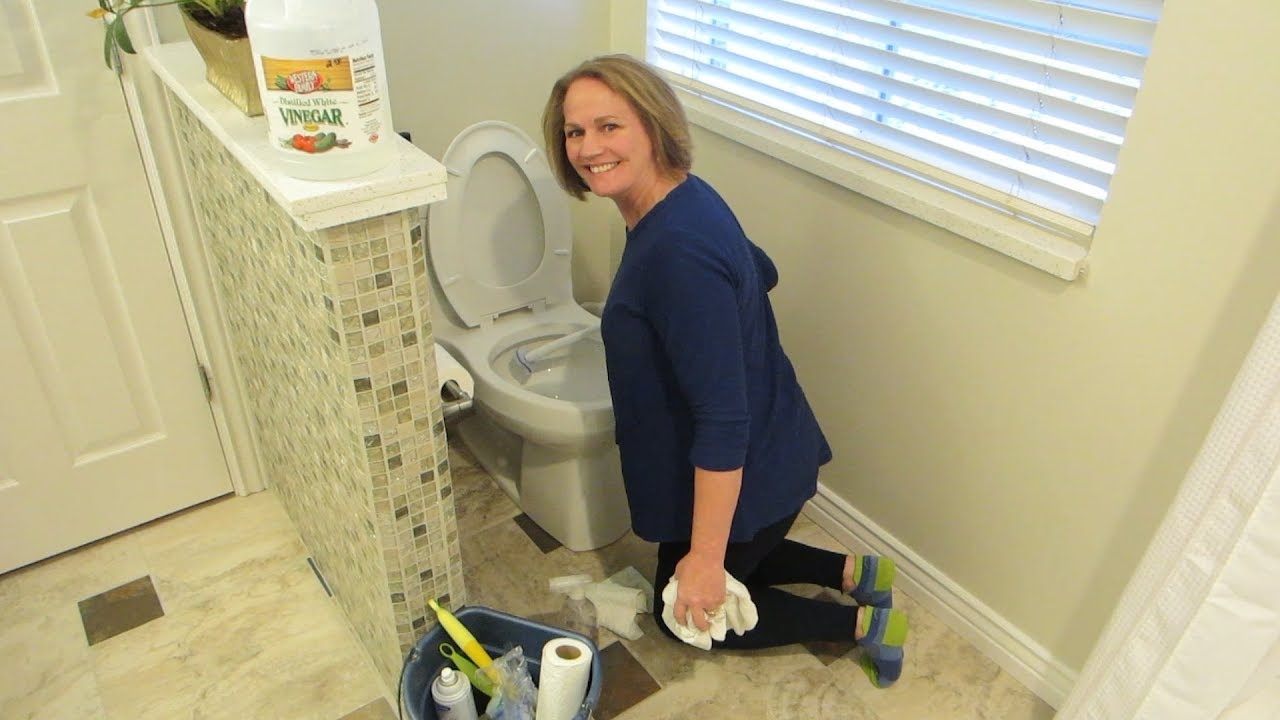 How To Clean A Bathroom And Keep It You