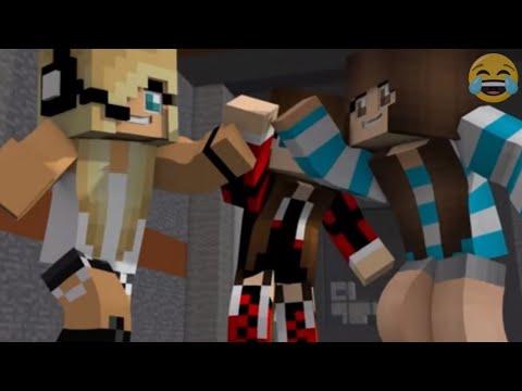"Minecraft Songs ""Superheros Parts 1 - 4"" ♫  Minecraft Songs and Minecraft Animation"
