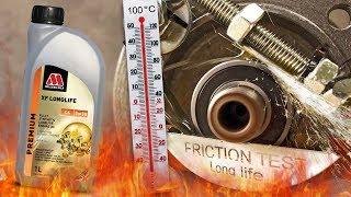 Millers Oils XF Longlife C4 5W30 Jak skutecznie olej chroni silnik? 100°C