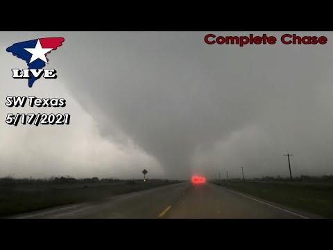 5/17/2021 LIVE Chase Stream   Southwest of Colorado City, TX