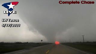 5/17/2021 LIVE Chase Stream | Southwest of Colorado City, TX