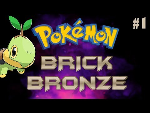 Roblox | Pokemon Brick Bronze | Turtwig, My Starter Pokemon! #1
