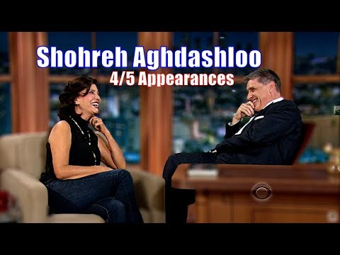 Shohreh Aghdashloo - A Sophisticated Attractive Persian Woman - 4/5 Visits In Chronological Order