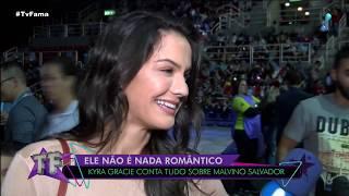 """""""não é Nada Romântico"""", Diz Esposa De Malvino Salvador, Kyra Gracie"""