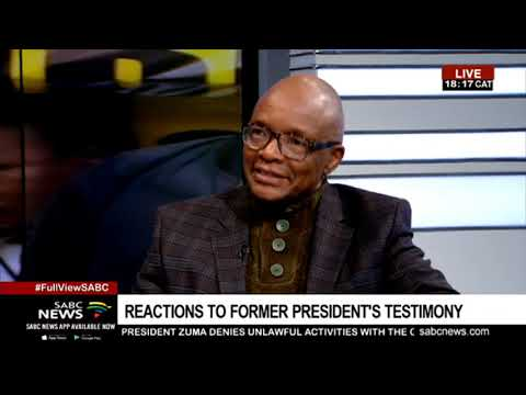 Sipho Pityana reacts to Zuma