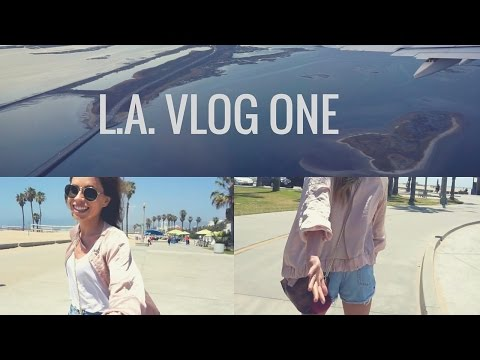 L.A. Vlog Episode One | MY BIRTHDAY + Santa Monica