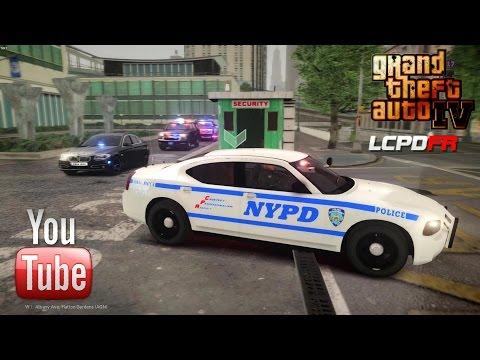 GTA IV/ EFLC - LCPD First Response 1.0B - EPiSODE 4 - NYPD VIP PROTECTION UNIT i7 5820K GTX 980
