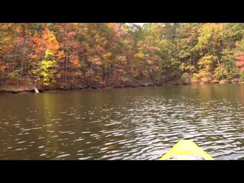 Kayaking - Lake Norman State Park. Troutman NC.