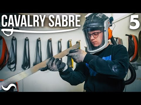 MAKING THE CAVALRY SABRE: Part 5