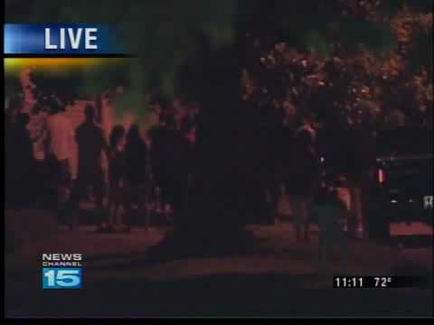 Police Stand-off In Huntington